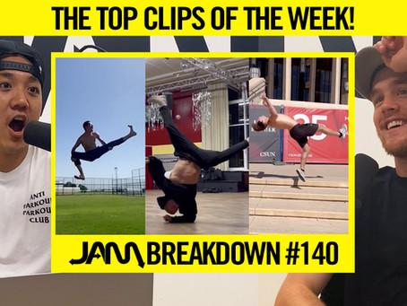 Craziest FLIPS of the Week | JAM Breakdown #140