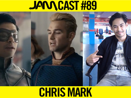 STUNT DOUBLE & TEAM RYOUKO MEMBER | JAMCast #89 - CHRIS MARK