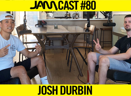 THE INFAMOUS DOUBLE BACKFLIP  | JAMCast #80 - JOSH DURBIN