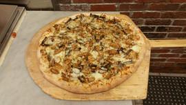 chicken marsala pizza