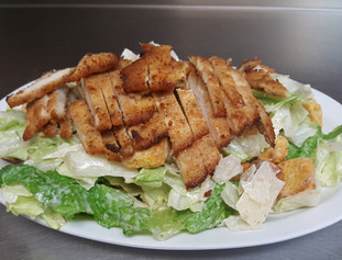 ceasar with ch cutlet