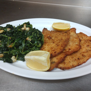 Chicken veggie plate