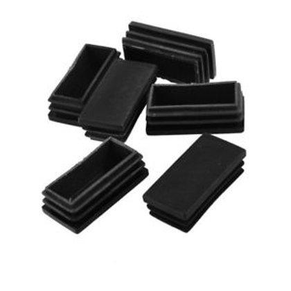 END CAPS BLACK 50x100mm 10pk