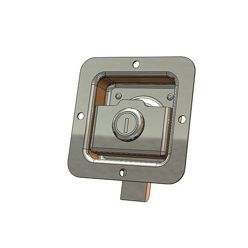 FLUSH PADDLE LATCH