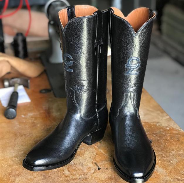 Mens Custom Calfskin Boots