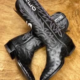 Mens Custom Ostrich Boots