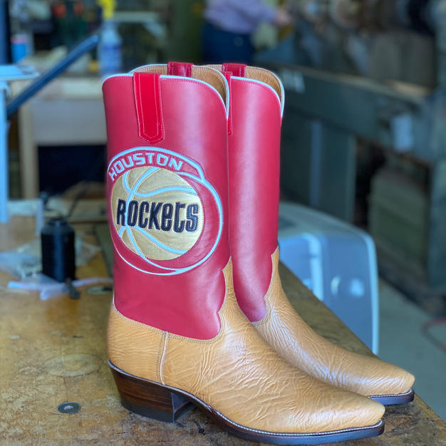 Mens Custom Bullhide Boots