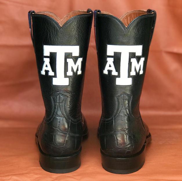Mens Custom Alligator Boots