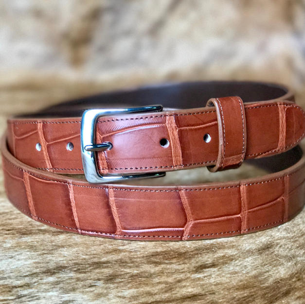 Custom Alligator Belt