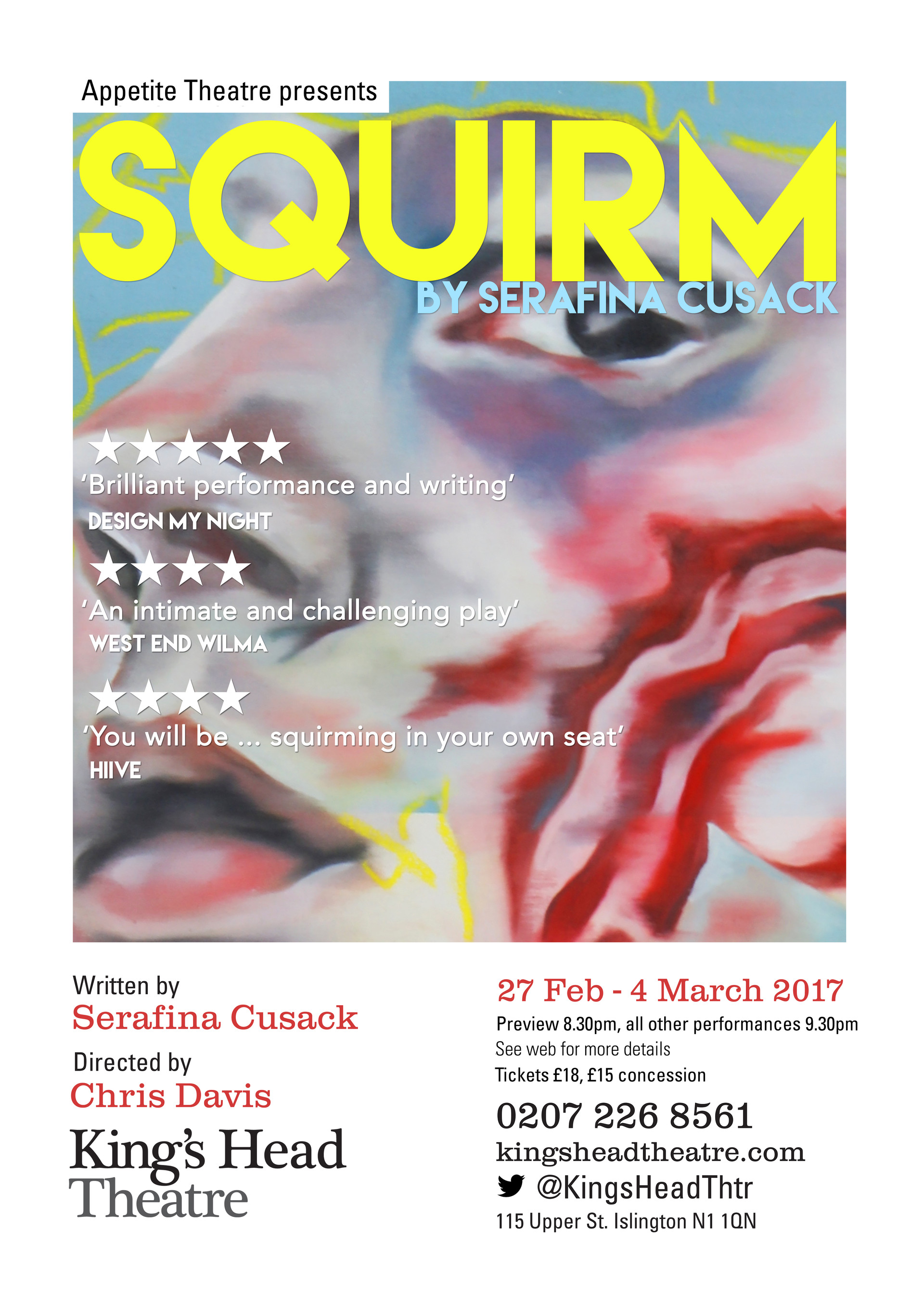 'SQUIRM' Poster