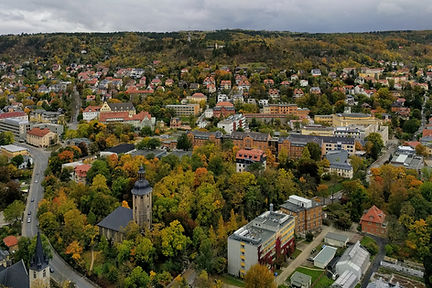 Canva - Aerial Shot Of Town Photo by Bru