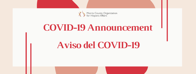 """Our response to Governor Murphy's """"Stay at Home"""" Executive Order - An Update on COVID-19"""