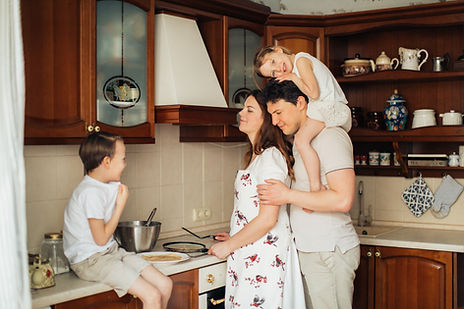 Canva - Family Preparing Crepes Together