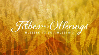 Tithes And Offerings Bright Field-Subtit