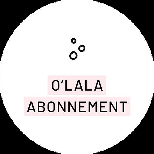 O'lala abonnement
