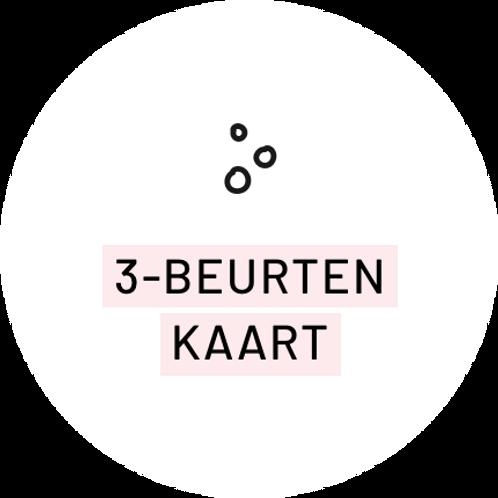 3-beurtenkaart