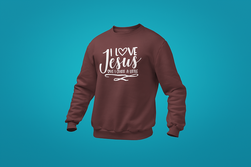 Cuss A Little Sweatshirt