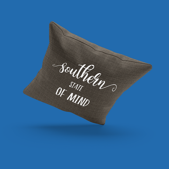 Southern State Of Mind Pillow