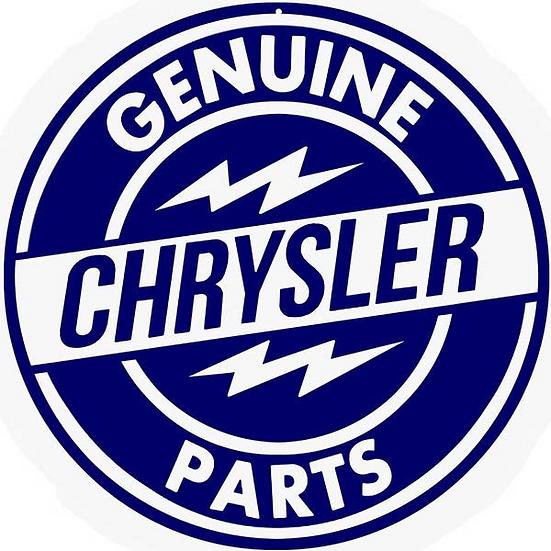Genuine Chrysler Parts Sign