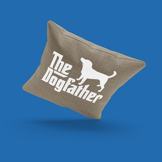 Dogfather Pillow