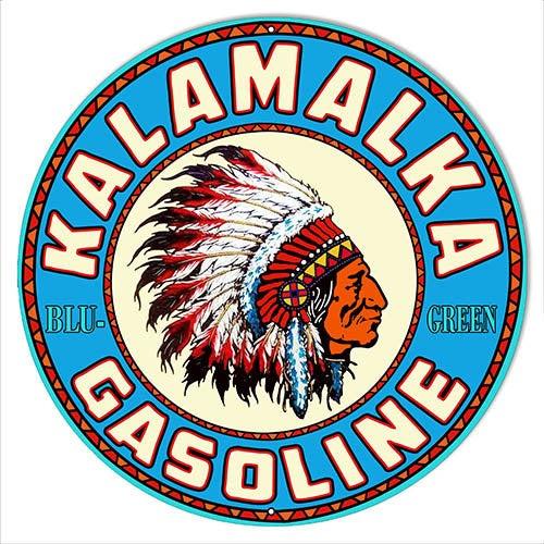 Kalamalka Gasoline Sign