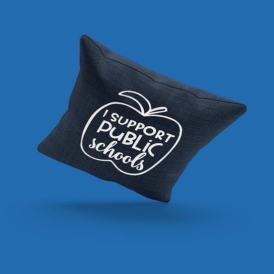 Public Schools Pillow