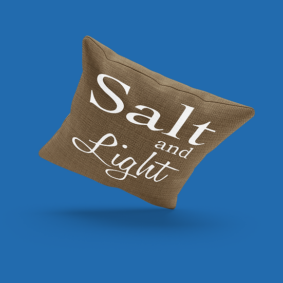Salt And Light Pillow