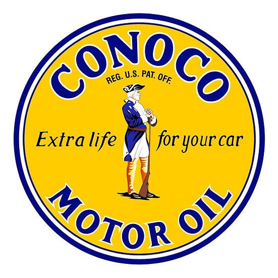 Vintage Conoco Oil Sign