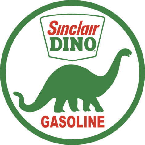 Sinclair Oil Dino Sign
