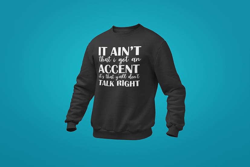 Accent Sweatshirt