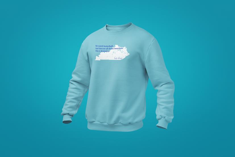 Hai-Blue Brand Haiku Sweatshirt
