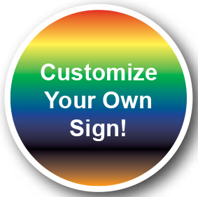 Custom Circular Sign