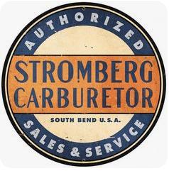 Vintage Stromberg Carburetor Sign