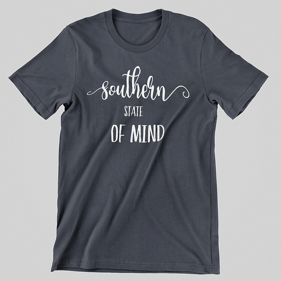 Southern State Of Mind Short Sleeve Tee
