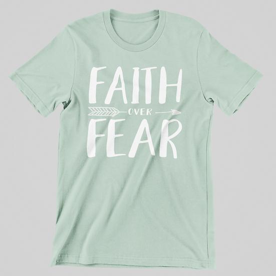 Faith Over Fear Short Sleeve Tee