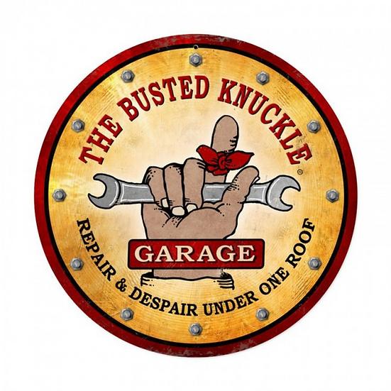 Busted Knuckle Garage Sign