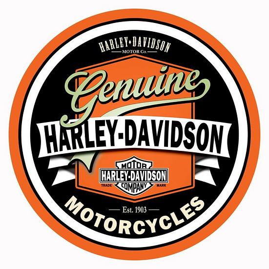 Genuine Harley-Davidson Sign