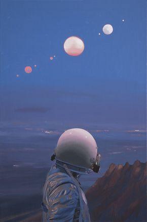 Scott Listfield's Stunning New Paintings