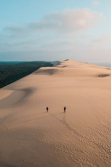 Sunset at Dune du Pilat, France.jpeg