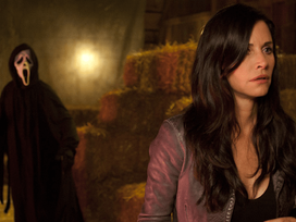BREAKING NEWS | 'Scream 5' Set Photo Released, Giving Us Our First Glimpse at Courtney Cox!