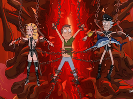 TRAILER | 'Hellraiser' & 'Rick & Morty' universes Meet in this EPIC Sneak Peak!