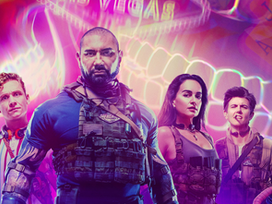 POSTER | Trippy New Poster for Zack Snyder's 'Army of the Dead' Showcases Epic Las Vegas Aesthetic!