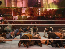 VIDEO | 'Army of the Dead' Zombies Took Over WWE Event Last Night... The Footage is INSANE!