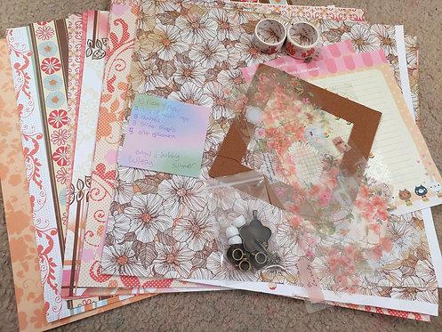 Crafting Grab Bag- Bright and Bubbly Cutesy Summer
