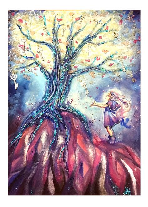 The Tree of Keys Print