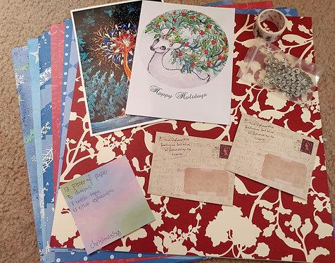 Crafting Grab Bag- Christmassy