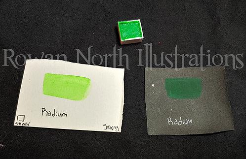 Radium Single Half Pan Watercolor