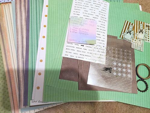 Crafting Grab Bag- Stripes n' Dots