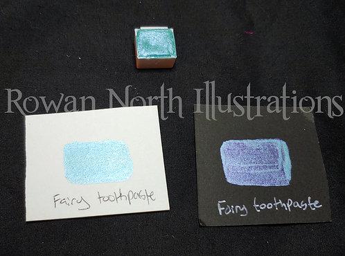 Fairy Toothpaste Single Half Pan Watercolor
