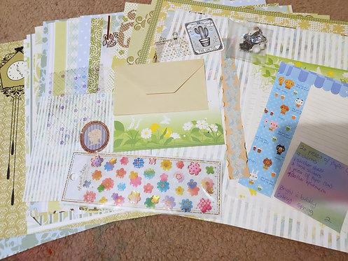Crafting Grab Bag- Bright & Bubbly Cutesy Spring